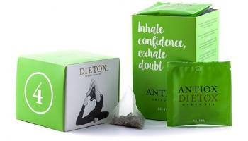 4. Antiox Green Tea - green detox tea