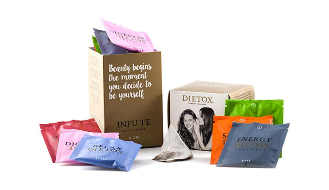 Multipack Infu-Te - pack tea and infusions detox